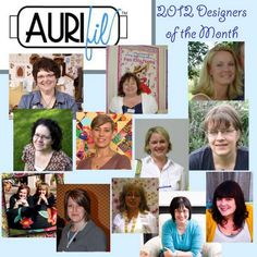 Meet the 2012 AurifilDesigners