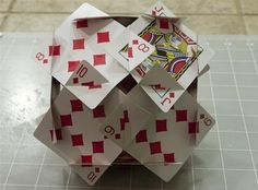 How to Make the Platonic Solids Out of Playing Cards « Math Craft