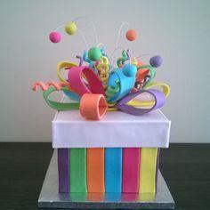 Caja de regalo para cumpleaños