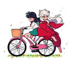 Amor Inuyasha, Inuyasha Fan Art, Inuyasha And Sesshomaru, Kagome And Inuyasha, Kagome Higurashi, Inuyasha Funny, Fanarts Anime, Anime Characters, Manga Anime