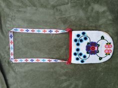 Ojibwe Floral Beaded Purse. June 2012