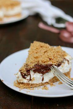 Sbriciolata senza cottura nutella e mascarpone - creando si impara Tiramisu, Cheesecake, Food And Drink, Pie, Chocolate, Cooking, Ethnic Recipes, Desserts, Yummy Yummy