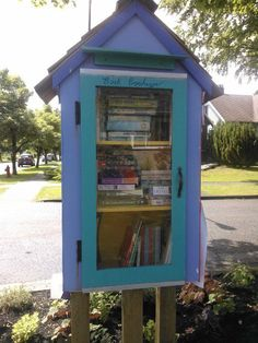 Book exchange in Vancouver, BC. Photo  by Kerry Andon.