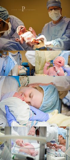 Birth Photography - we need to work on your photograph skills and make sure you bring the camera in the OR this time!