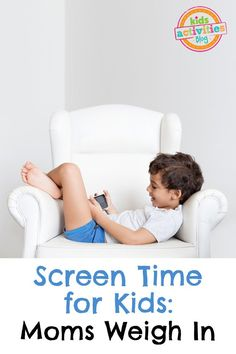 Screen Time For Kids, how much is too much? Real moms weigh in! Find out the answers NOW! #ad #kids #safekids #ourpact