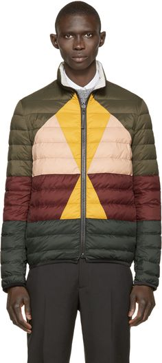 Valentino Multicolor Down Jacket Combat Pants, Valentino Clothing, Down Parka, Outdoor Outfit, Quilted Jacket, Sport Coat, Couture, Sportswear, Winter Jackets