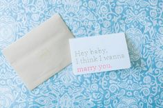 A day-of love letter to my hubby-to-be.