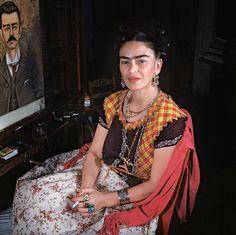 Fotos raras mostram Frida Kahlo em seus últimos dias de vida - Revista Prosa Verso e Arte