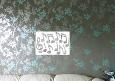 Musical Note/Notes Personalised Word Art Print,  FREE UK P&P. 2 sizes. - pinned by pin4etsy.com