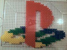 Playstation 1 Logo perler beads by PerlerPixie on deviantART