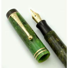 Parker Duofold Fountain Pen - Streamline, Jade Soon to arrive.  My first Grail Pen
