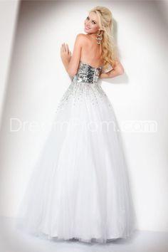Beading Mini-Length Tassel Strapless Prom/Cocktail Dresses