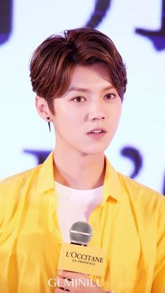鹿晗 Luhan at L'Occitane fan-meeting
