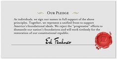 Sign the Conservative Declaration! Join with me and thousands of patriots who share our deeply shared beliefs! Click!