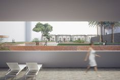 Terrace - Conceptual render by dms infoarquitectura