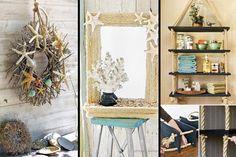 33 καλοκαιρινές ιδέες διακόσμησης και κατασκευών εμπνευσμένες απο το θαλασσινό αεράκι!