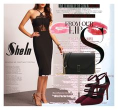 """""""shein 9"""" by aida-1999 ❤ liked on Polyvore featuring MAC Cosmetics"""