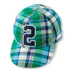 Plaid baseball cap | The Children's Place #ballcap #plaid #kidsfashion