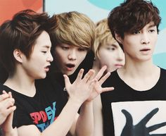 Xiumin is not a baby, lulu. U don't have to treat him as if he's a little kid when he does something...