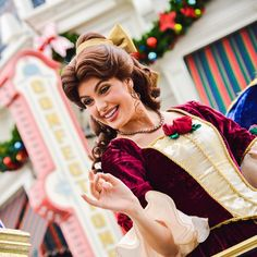 Belle in Christmas