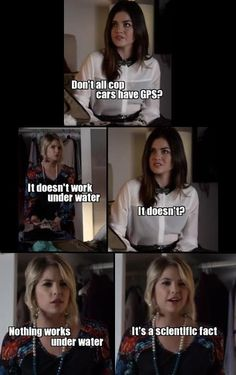 Pretty little liars- The best scene ever!!!!!!!