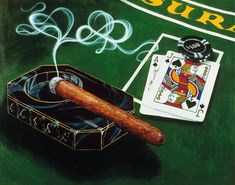 "Michael Godard ""Vegas 21"" 24 by 30 Limited Ed S Series 300 - Art Center Gallery"