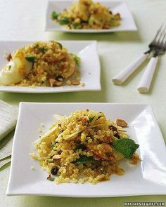 Cooking with Quinoa // Quinoa-and-Apple Salad with Curry Dressing Recipe