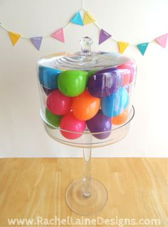 Rachel Laine Designs – Colorful Crochet, Crafts, and all things Creative :) Crochet Crafts, Diy Crafts, Crochet Ideas, Cake Dome, Outdoor Cushions, Cake Plates, Easter Eggs, Centerpieces, Christmas Decorations