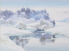 Ideas for winter landscape sketch snow Winter Watercolor, Landscape Sketch, Art Painting, Landscape Paintings, Winter Landscape, Painting, Winter Painting, Watercolor Landscape, Landscape Art