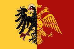 Heirs of the Roman Empire - Fictional Flag by CaptainVoda.deviantart.com on @DeviantArt