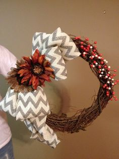 Easy to make wreath!