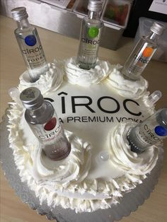 Liquor Bottle Cake Decorations Pinterest  Amberieisha  Desserts  Pinterest  Cake Birthdays