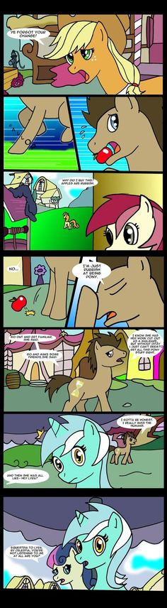 This is one of my FAVORITE mlp fan comics out there, you MUST check it out!