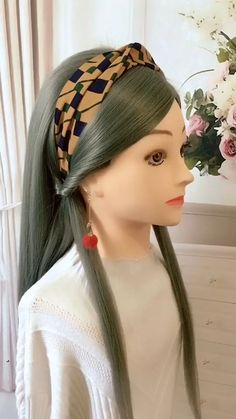 hair style girl in saree, hair style girl image, hair style girl in bangla Hair Scarf Styles, Front Hair Styles, Medium Hair Styles, Curly Hair Styles, Easy Hairstyles For Long Hair, Braids For Long Hair, Braided Hairstyles, Scarf Hairstyles Short, Hairband Hairstyle