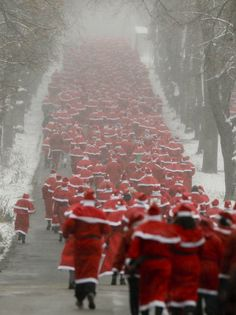 ~ The Great Santa Run ~
