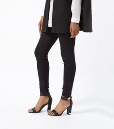 Discover the latest trends with New Look's range of women's, men's and teen fashion. Ankle Strap Block Heel, Block Heels, Shoe Gallery, Black Metal, Teen Fashion, Shoes Online, New Look, Latest Trends, Black Jeans