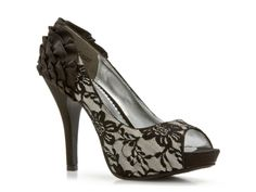 Lulu Townsend Gloria Pump(all black)  be SURE to click on the tab and select the ALL BLACK choice, not this black and white one!!