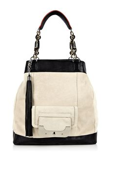 Chalk Harper Anna Suede Combo tote - Oh yes!