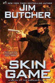 "Jim Butcher  ~  The Online Site For Everything Jim ""Skin Game"", the newest book comes out very soon.  Can't wait."