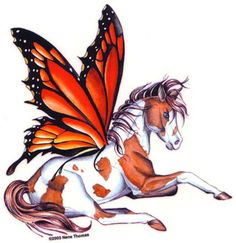 Butterfly-winged Pegasus