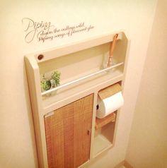 賃貸トイレを可愛くリメイク