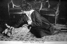 Colette et Bâ-tou, l'once Crazy Cat Lady, Crazy Cats, Patricia Highsmith, Nobel Prize In Literature, Best Novels, Le Jolie, Cat People, Angels And Demons, Victor Hugo