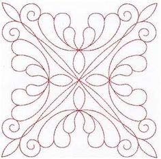 printable quilting motifs - Google Search