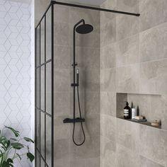 dé badkamer trends van 2019 Black and industrial; view the bathroom trends of Steam Showers Bathroom, Bathroom Toilets, Bathroom Faucets, Small Bathroom, Minimal Bathroom, Remodel Bathroom, Marble Bathrooms, Boho Bathroom, Master Bathrooms