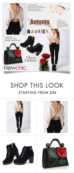 """""""#Newchic9"""" by kristina779 on Polyvore featuring moda"""