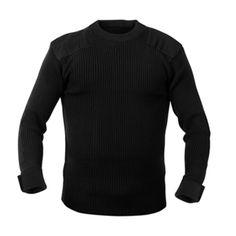 GI Acrylic Command Sweater | Black