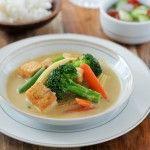 Yellow Curry with Tofu and Vegetables | Gang Garee Tau Hoo | แกงกะหรี่เต้าหู้