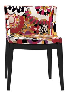 Kartell   Mademoiselle Chair In Missoni Fabric : Kartell   Mademoiselle  Chair In Missoni Fabric Cart/BlkLegs And Other Furniture U0026 Decor Products.