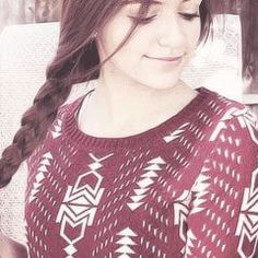 I've been seeing a LOT of pics. Of bethany mota here on pinterest like seriously!