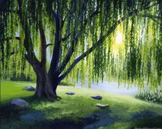 acrylic canvas whimsical art zen - Google Search